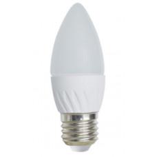 Лампа LED candle 5.0 W E27 2700 K свеча 100х37 мм Ecola LIGHT C7TW50ELC