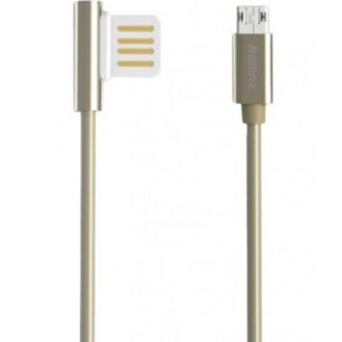 USB кабель белый 1 м microUSB REMAX RC-054m