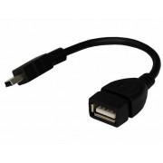 Шнур miniUSB штекер - USB-A гнездо черный 0.1 м MRM-Power