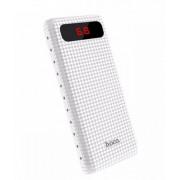 Внешний аккумулятор Power Bank белый 20000 mAh Hoco B20A
