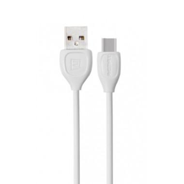 USB кабель белый 1 м для Type-c Remax Lesu RC-050a