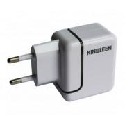 Сетевое зарядное устройство (СЗУ) 2xUSB 5V 2.4A Kingleen Home Charger C848