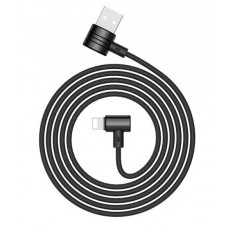 USB кабель iPhone 8 pin черный 1 м Baseus T-TYPE Magnet cable CALTX-01