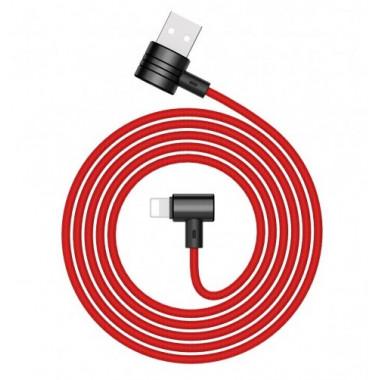 USB кабель iPhone 8 pin красный 1 м Baseus T-TYPE Magnet cable CALTX-09