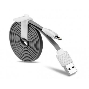 USB кабель серый 2 м для iPhone 8 pin Hoco UPL18