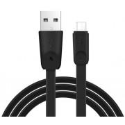 USB кабель черный 1 м для microUSB Hoco Rapid X9