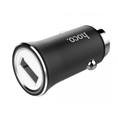 Адаптер в прикуриватель черный 1хUSB 2.4А Hoco Titan Z8