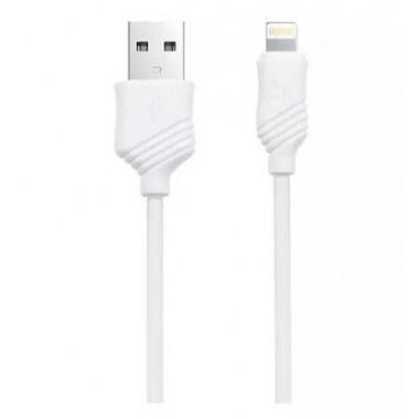 USB кабель белый 1 м для iPhone Hoco Khaki X6