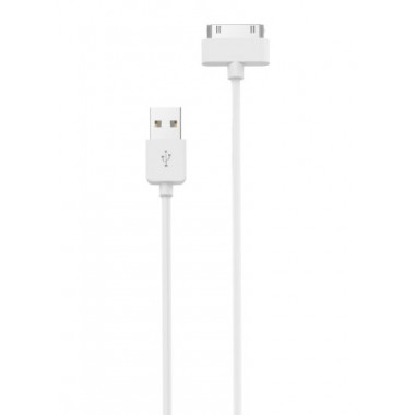 USB кабель белый 1 м для iPhone 4/4S Hoco X1