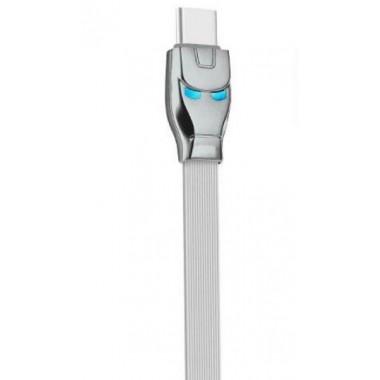 USB кабель серый 1.2 м Type-C Hoco U14