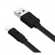USB кабель черный 1 м для iPhone Hoco Bamboo X5