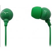 Наушники внутриканальные стерео провод 1.2 м зеленые SmartBuy COLOR TREND SBE-3200