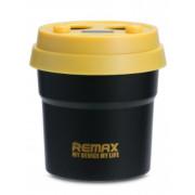 Автомобильное зарядное устройство с 2-мя USB + 2 прикуривателя черное Remax Coffee CR-2XP