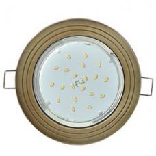 Светильник GX53 H4 2круг Черненая бронза Ecola FN31H4ECB