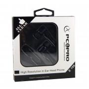 Наушники с гарнитурой черные PC PRO E100