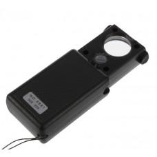Лупа с подсветкой 30х 60х Magnifier №9881