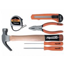 Набор инструмента бытовой 6 предметов Sparta 13540