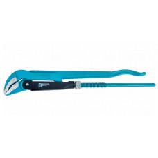 Ключ трубный рычажный №0 0.5' цельнокованый CrV тип - B Gross 15620