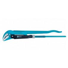 Ключ трубный рычажный №1 1' цельнокованый CrV тип - B Gross 15621