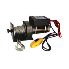 Лебедка автомобильная электрическая 4.5 т 12 В DENZEL 520505
