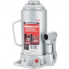 Домкрат гидравлический бутылочный 15 т 230–460 мм MATRIX MASTER 50729