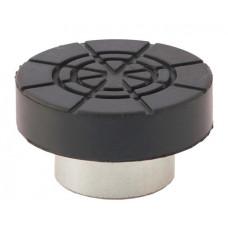 Адаптер для бутылочных домкратов с резиновой накладкой шток 32 мм MATRIX 50909