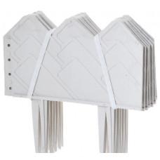 Бордюр 14 х 310 см белый PALISAD Кантри 65057