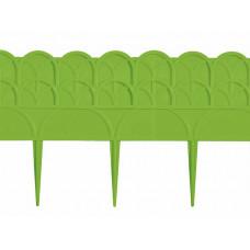 Бордюр 14 х 310 см зеленый PALISAD Прованс 65065