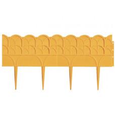 Бордюр 14 х 310 см желтый PALISAD Прованс 65070