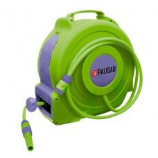 Катушка с поливочным шлангом 20 м автоматическая диаметр штуцера 1/2' PALISAD 67407
