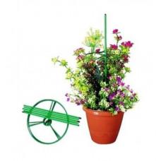 Набор для формирования цветочных композиций подставка 110 см три кольца диаметр 300 мм PALISAD 69150
