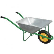 Тачка садовая грузоподъемность 120 кг объем 58 л PALISAD 689103