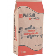 Уголь берёзовый 3 кг PALISAD Camping 69545