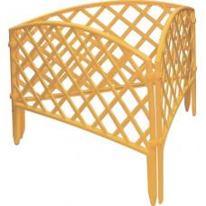 Забор декоративный 24 х 320 см желтый PALISAD Сетка 65001