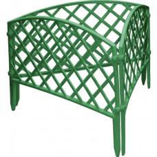 Забор декоративный 24 х 320 см зеленый PALISAD Сетка 65006