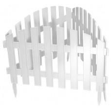 Забор декоративный 28 х 300 см белый PALISAD Винтаж 65011