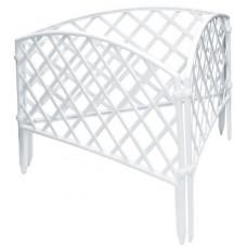 Забор декоративный 24 х 320 см белый PALISAD Сетка 65021
