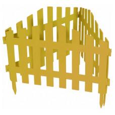 Забор декоративный 28 х 300 см желтый PALISAD Марокко 65031