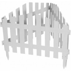 Забор декоративный 28 х 300 см белый PALISAD Марокко 65035