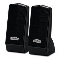 Колонки 2.0 USB мощность 2х3 Вт (RMS) чёрные Perfeo CURSOR PF-601