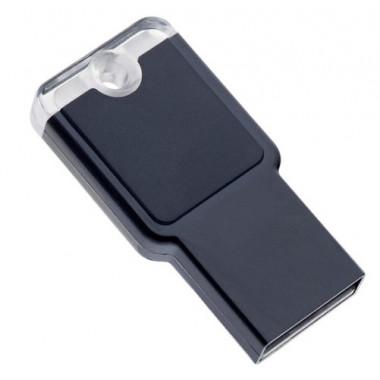 USB накопитель 16GB Perfeo M01 Black PF-M01B016