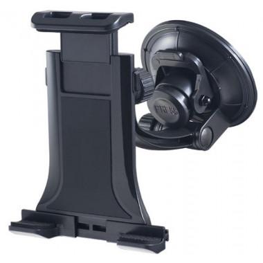 Автодержатель для планшета\смартфона 4-10' на стекло трансформер черный Perfeo PH-711