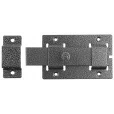 Задвижка накладная для дверей плоский засов 30х135х7 мм 75х115 мм ЗД-02 37776-2