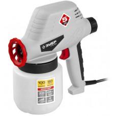 Краскопульт (краскораспылитель) электрический 0.8 л сопло 0.8 мм 100Вт ЗУБР КПЭ-100