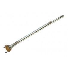 Элемент нагревательный RDT 1500 Вт нержавеющий радиаторный L-272 мм фланец гайка - резьба D-42 мм 24068