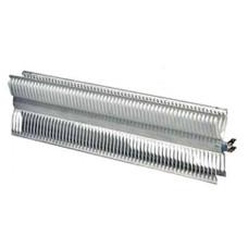 Элемент нагревательный 1.0 кВт (500+500 Вт) EL 220-240 В 2 режима алюминий L-344/317 мм Х-образный 110х38 мм для электроконвектора Electrolux NCA10