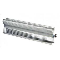 Элемент нагревательный 2.0 кВт (1000+1000 Вт) EL 220-240 В 2 режима алюминий L-712/685 мм Х-образный 110х38 мм для электроконвектора Electrolux NCA20