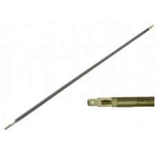 ТЭН гибкий сухой 1000 Вт D-6.5 мм L-1050 мм нержавеющий контакты под разъём или под винт М4 03.610