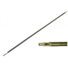 ТЭН гибкий сухой 1000 Вт D-8.5 мм L-1050 мм нержавеющий контакты под разъём или под винт М4 03.810
